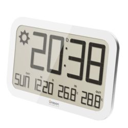 Barometers Oregon Scientific WALL BAROMETER WITH TEMPERATURE IN / OUT WHITE
