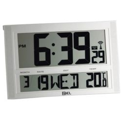 Watches Ziel MURAL THERMO CLOCK BIG DISPLAY