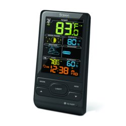 Weather Stations Oregon Scientific WIRELESS WEATHER STATION WITH HUMIDITY AND WEATHER ALERT - COLOUR SCREEN