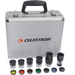 Accessories Celestron EYEPIECES KIT AND 31.8MM DIAMETER FILTERS