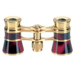 Binoculars Eschenbach OPERA GLASSES GLAMOUR BORDEAUX